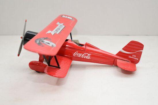 Coca Cola Bi-Plane Bank