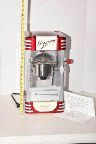 "Nostalgia Electronics Popcorn Maker, 19""x10"""
