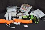 Wii Game Station, Games and Accessories Incuded