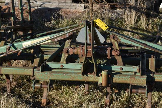 2- John Deere 1010 Field Cultivators, Spring Shank, With Harrow, 1- 3pt 1-
