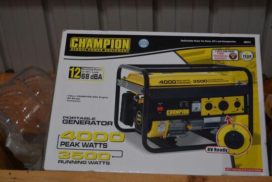 4000 Watt Peak 3500 Watt Running Generator