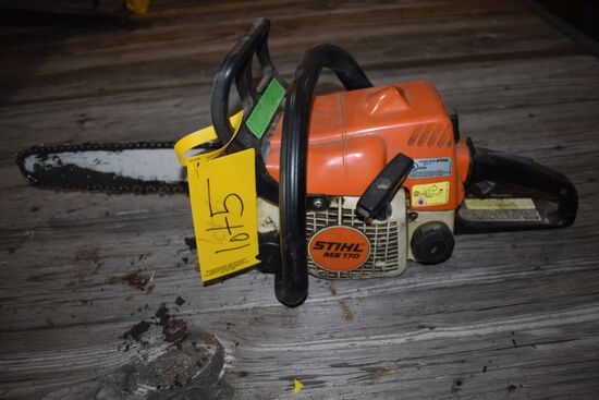 Stihl 170 Chainsaw, Needs Tuned Up