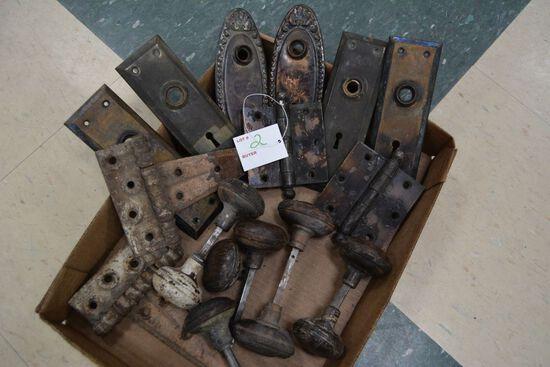 A lot of Vintage  Door Knobs