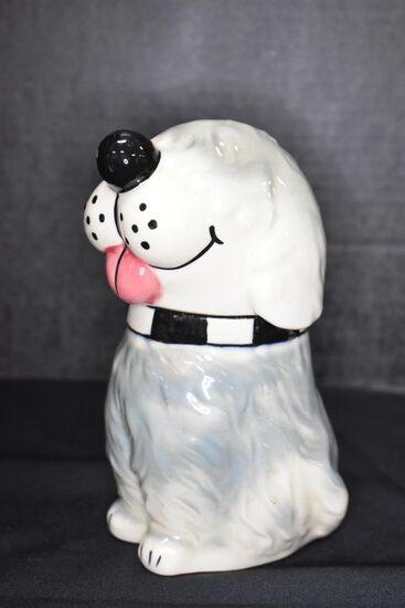 7 1/2 inch Dog Cookie w/Candy Jar by USA