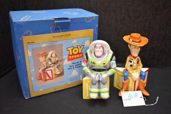 Toy Story Salt & Pepper w/Box