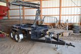 2 Box Seed Caddy By Roth, Honda 340gx With Electric Start, Bumper Hitch, Ha