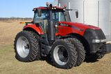 2015 Case IH 310 Magnum MFWD Tractor, 679 Hours, CVT Transmission, Luxury C