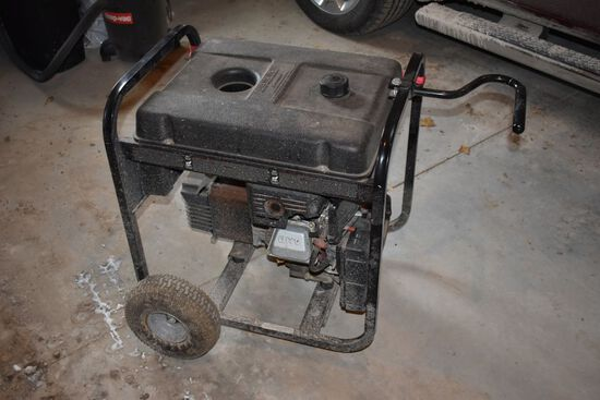 Blackmax 6250 5000 Watt Generator, Pull Start, Used Very Little