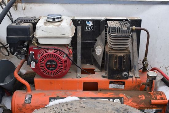 Magnia Portable Air Compressor, Honda GX160 Engine