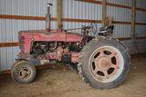 1953 Farmall Super M, Fast Hitch, Power Steering, Live Hydraulics, Narrow F