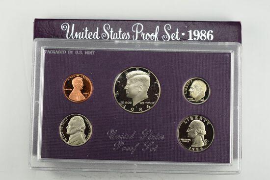 1986 US Proof Set