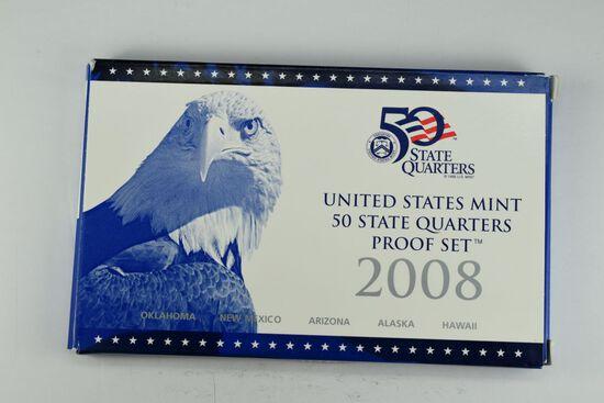2008 United States Quarter Proof Set