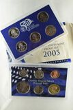 2005 U.S. Mint Proof Set (11 Coins)