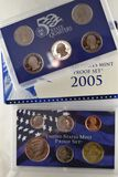 2005 U.S. Mint UNC, Coin Set