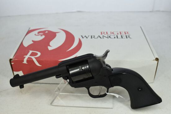 Ruger Wrangler Revolver, NIB, black, .22lr, SN-200-85823