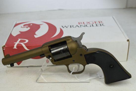 Ruger Wrangler Revolver, NIB, bronze, .22lr, SN-200-242-97
