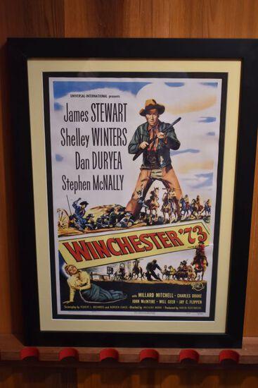 Winchester 73 Framed Movie Poster