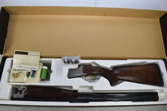 "Browning Citori 525 Shotgun, 12 ga., Sptg GR1, 30"" Barrel, chokes, as new i"