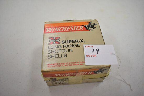1 - Box of 25, 12 ga. Winchester 2.75 6 shot
