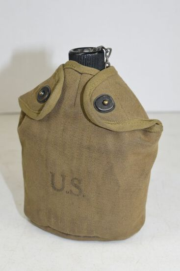 US Canteen, WWII, 1945 with cup and cover