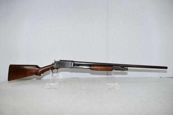 Marlin 24 Pump Shotgun, shows wear, low condition, 12 ga., SN-128191