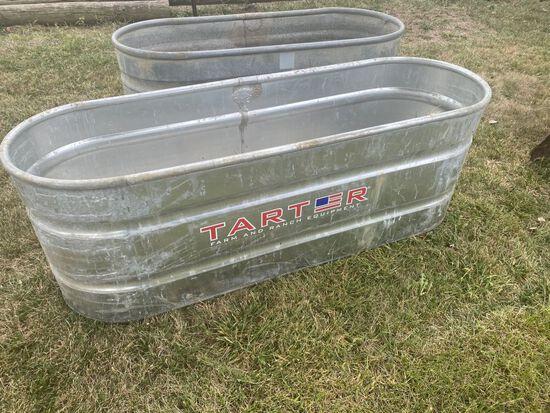Tarter, Galvanized 170 gallon Tank
