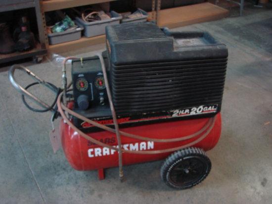 Craftsman 2HP 20 Gallon Air Compressor