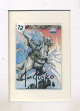 Joe Jusko Luke Skywalker Tauntaun Autographed Card