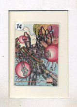 IG-88 Bounty Hunter Card Autographed by Karl