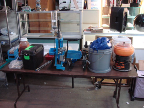 Dillon 550B Reloading Press - With Extras