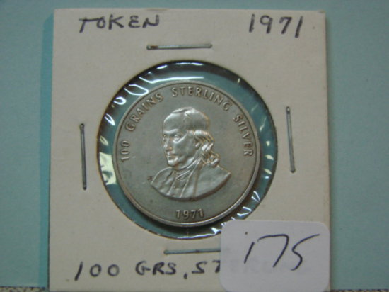 1971 100 Grains Sterling Silve    Auctions Online | Proxibid
