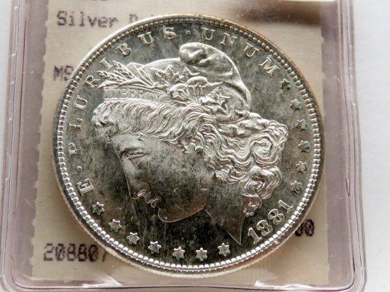 Morgan $ 1881S Hannes Tulving MS