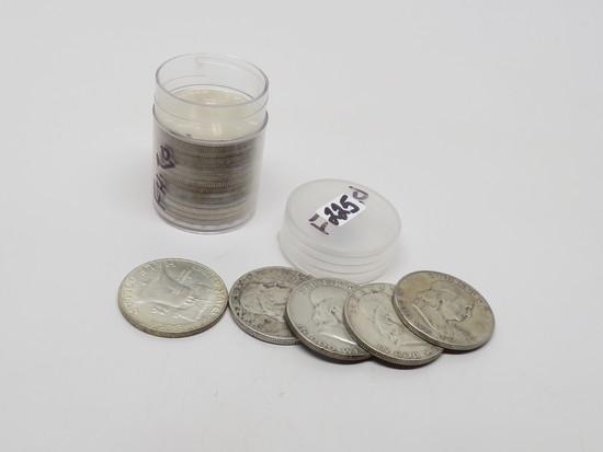 20 Silver Franklin Half $