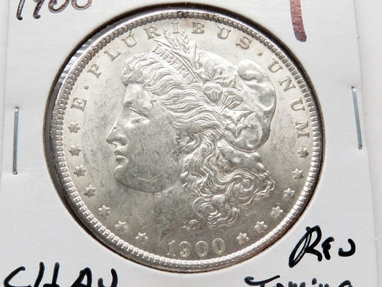 Morgan $ 1900 CH AU rev toning