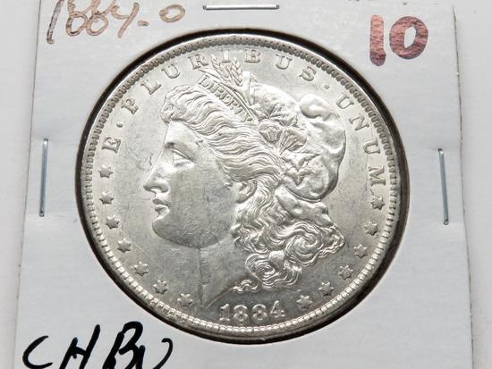Morgan $ 1884-O CH BU
