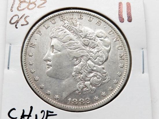 Morgan $ 1882 O/S CH VF