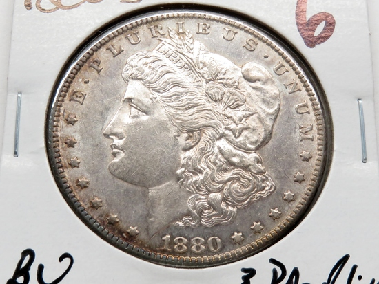 Morgan $ 1880S BU ?PF-Like, toning