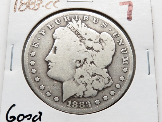 Morgan $ 1883CC Good