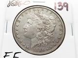 Silver $ 1886-O EF