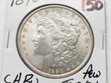 Morgan $ 1890 CH BU few tone spots