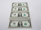 25-$1 FRN 2003A CH CU, Consecutive SN J25182901A-925A