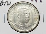 1946 Booker T Washington Commemorative Half $ Unc