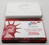 2 Silver US Proof Sets: 2006, 2007