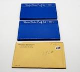 3 US Proof Sets: 1964, 71, 83