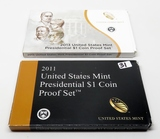 2 Presidential $ Proof Sets: 2011, 2013