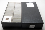 226 Lincoln Cents in double 2x2 Box, 1909-58D, 130 dates, no more than 3 each dt, up to BU