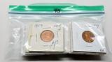 23 Proof Lincoln Cents:1957, 61, 69S, 2-70S, 2-71S, 3-73S, 74S, 77S, 78S, 79S, 80S, 81S, 90S, 98S, 0