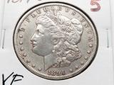 Morgan $ 1894-O VF better date