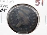 Large Cent 1812 small date Good