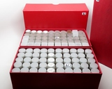 2 Boxes of 50 Tubes Lincoln Cents, assorted dates.  Unsearched by us, appear to be all Wheat.  Estim